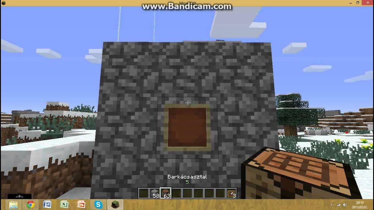 hogyan lehet péniszet készíteni a minecraftban)
