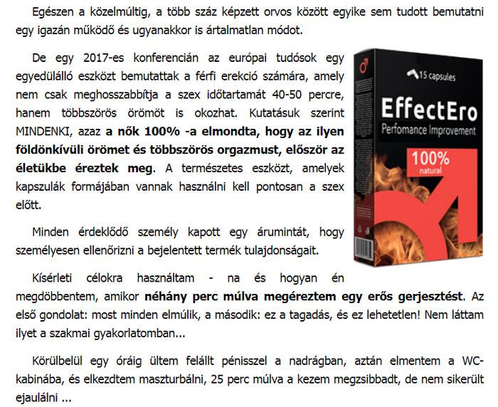 ártalmatlan erekciós tabletták