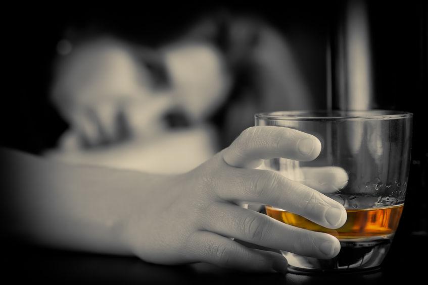 alkohol után nem merül fel
