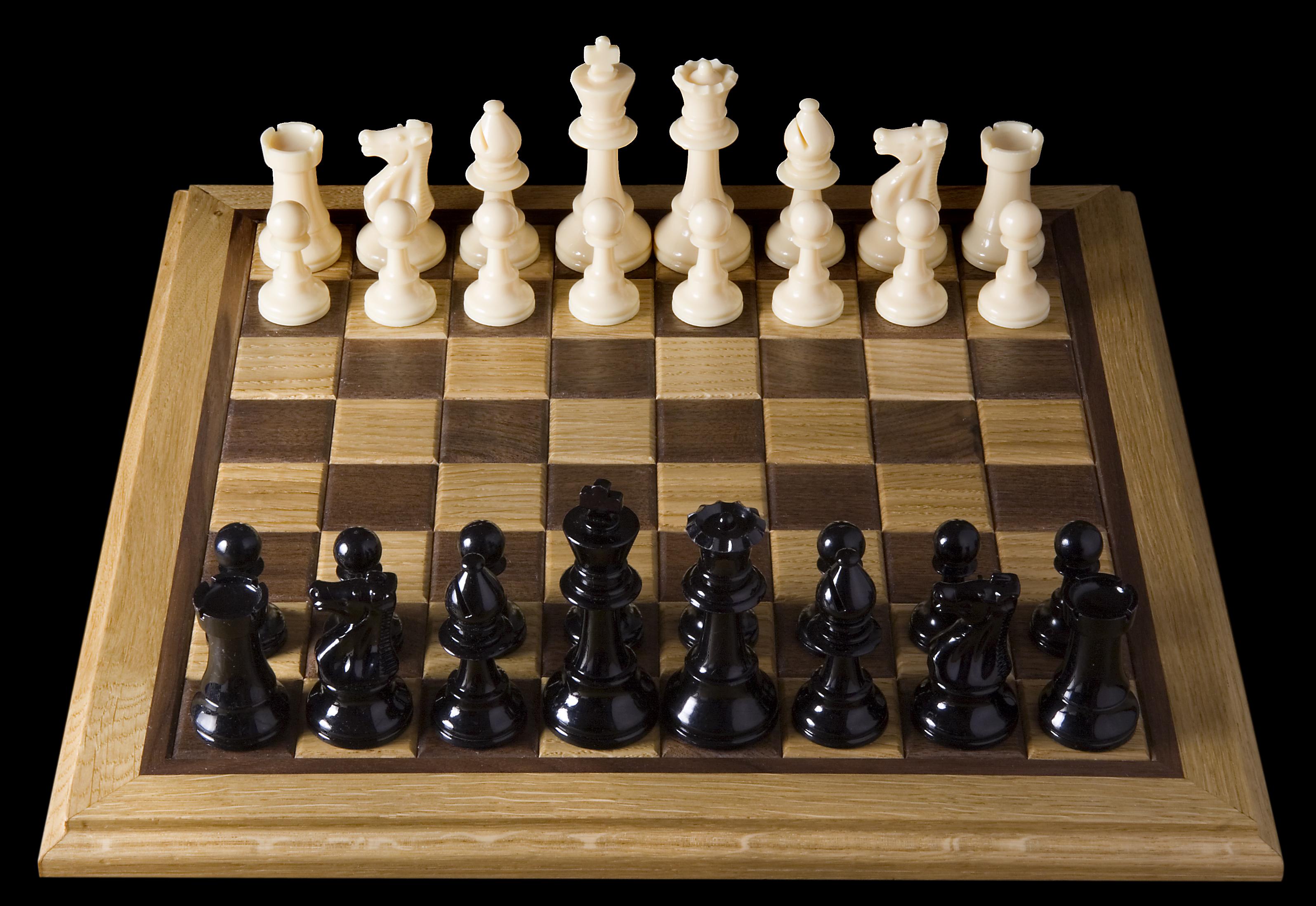 Sakk bábuk felállítása