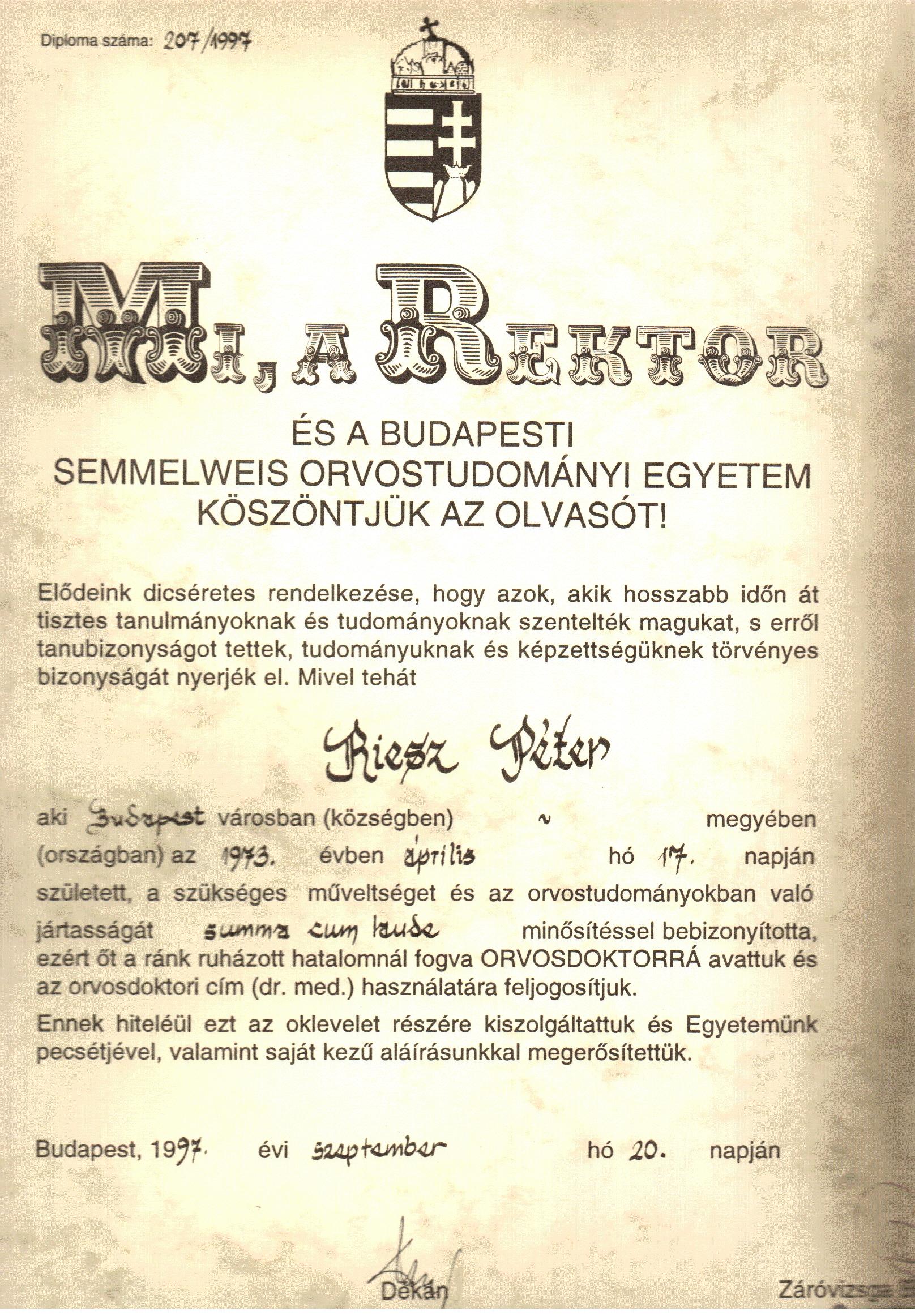 merevedés 56 év után)