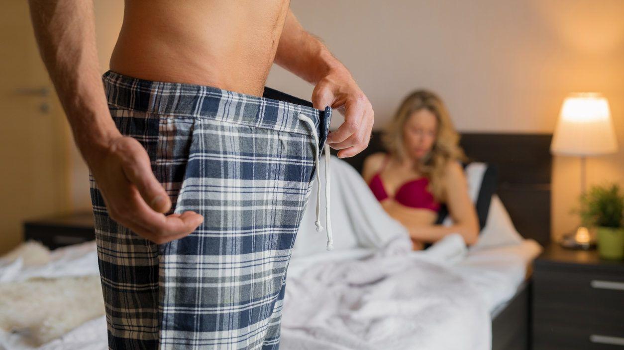 pénisz impotencia gyenge merevedés és gyakori vizelés