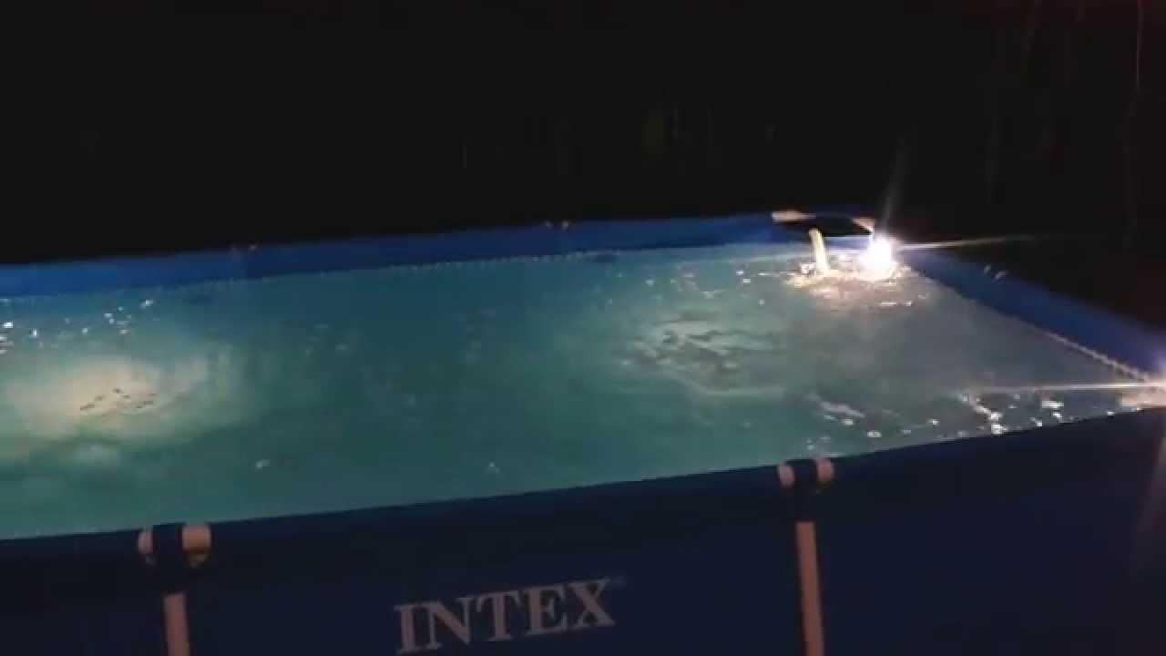 intex medence felállítása