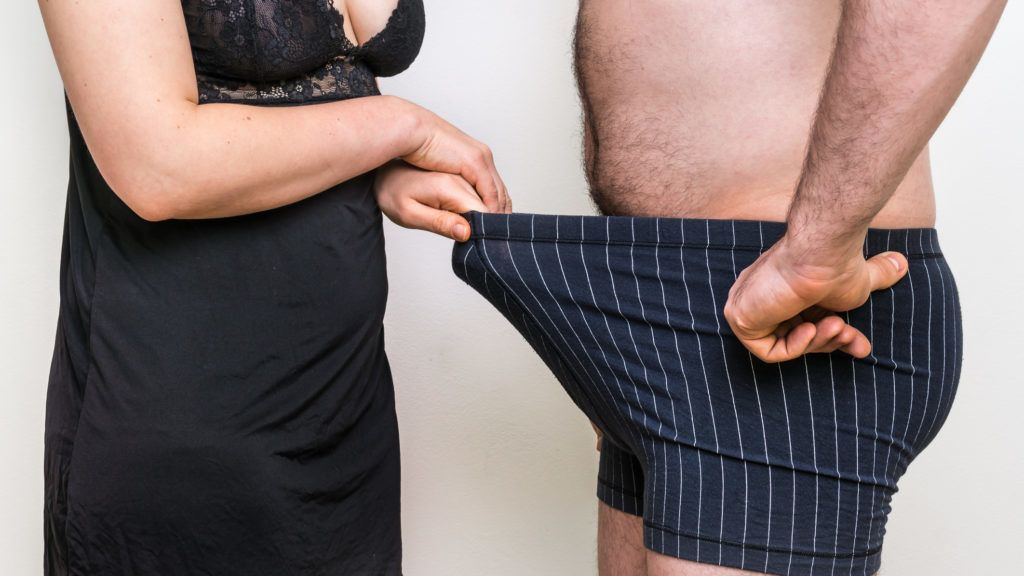 erekció a nadrágban