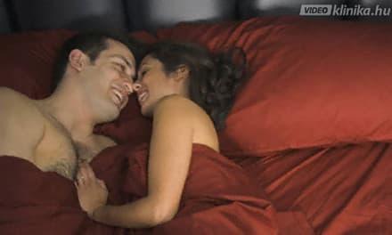 alvás-erekciós videó