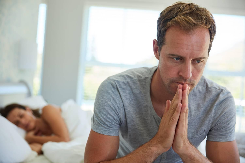 nincs erekció, ha nővel van intimitás