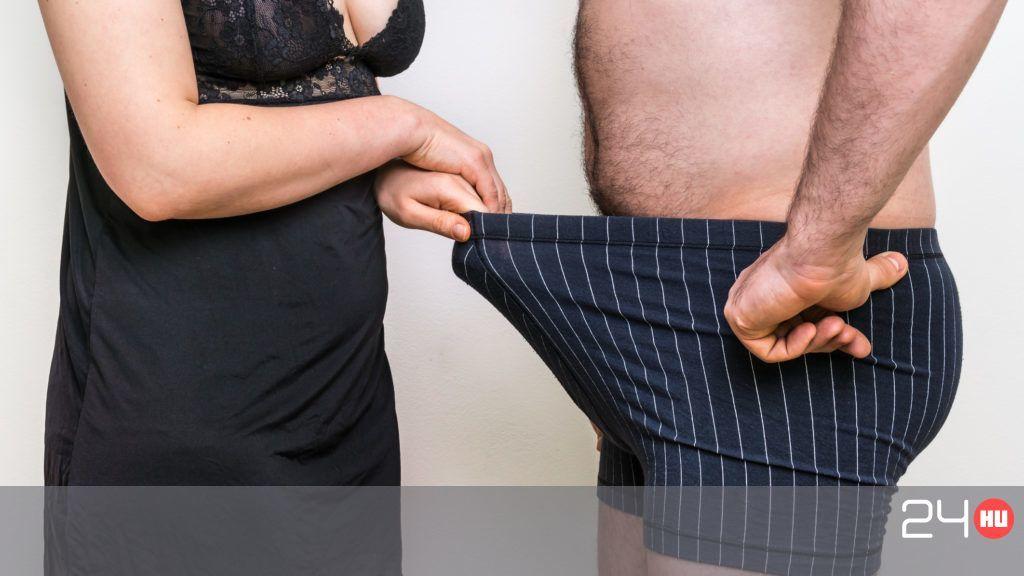 standard méretű hímivarú pénisz